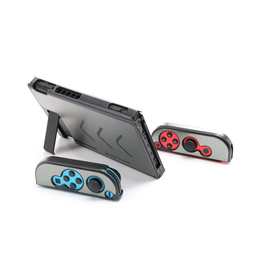 Nintend Accessories 5 Colors Hard Metal Nintend Console Case Shockproof Protective Cover for Nintend Switch NS Console Joy-con 2