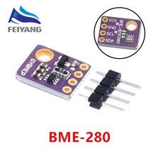 Módulo i2c spi 1.8 5v GY BME280 do sensor da pressão barométrica da umidade da temperatura do sensor de 10 pces bme280 digitas