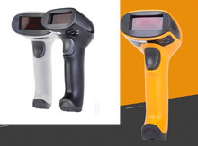 laser wired barcode scanner bar code reader handheld barcode scanner usb scanner  USB Cable for Supermarket and POS System