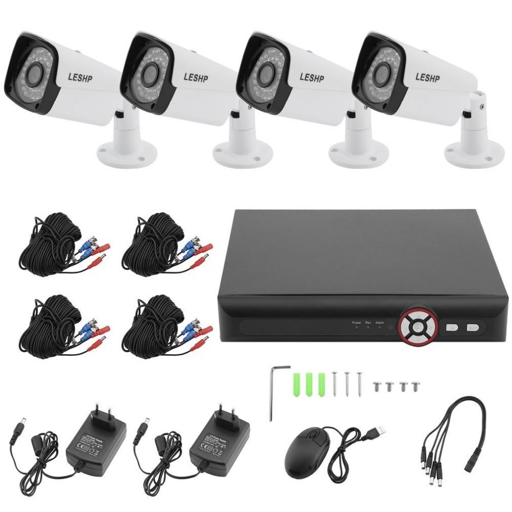 1080P AHD Surveillance Kit CCTV System Household 8 Channel Network font b Webcam b font Home