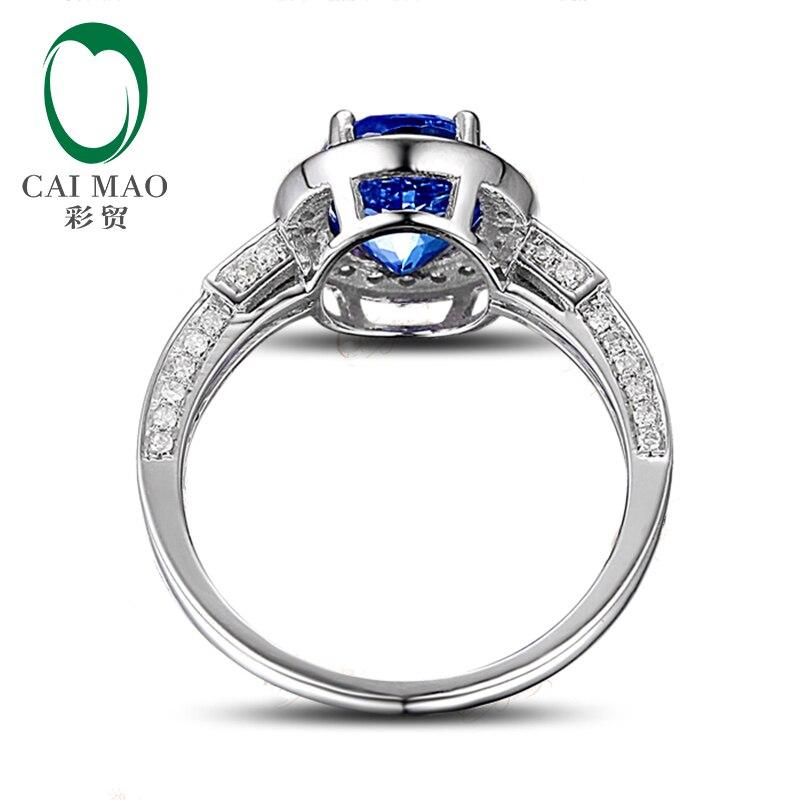Piscando 2.07ct 14 k Ouro Branco Azul Violeta Tanzanite Anel de Noivado de  Diamante em Anéis de Jóias   Acessórios no AliExpress.com   Alibaba Group a7002db7d9