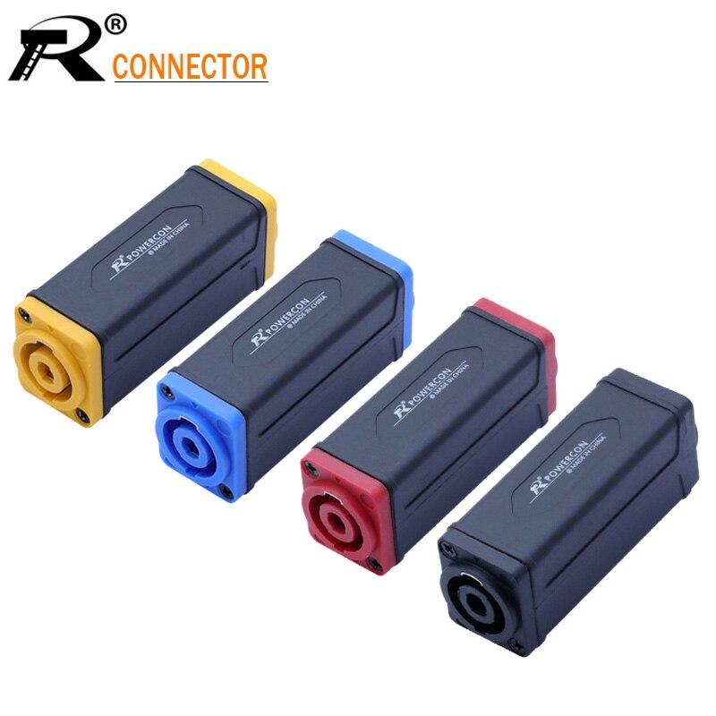1 шт. Новое поступление 4PIN Speakon/PowerCon переходник удлинитель аудио динамик панель крепление прямой разъем 4 цвета в наличии