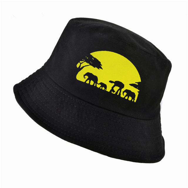 New National Geographic bucket hat Fashion men women cotton k pop panama  fisherman hats outdoor hunting fishing cap bone feminin c2f48765599