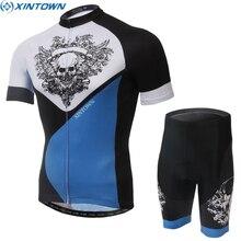 XINTOWN Cycling Jersey Ropa Ciclismo Mens Summer Shirts Bike Bib Trouser Shorts Sets Bicycle Wear Suit