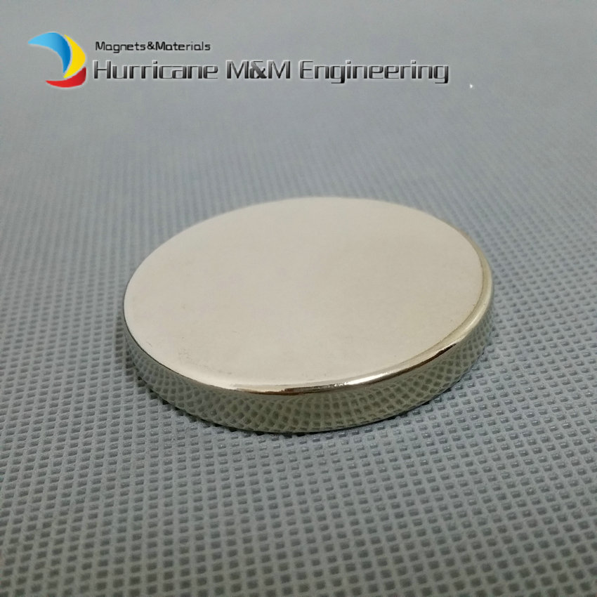 NdFeB Disc Magnet  1 3/4 dia.x1/4 thick Neodymium Permanent Magnets Grade N42 NiCuNi Plated Axially Magnetized EMS SHIPPED 1 pack dia 4x3 mm jewery magnet ndfeb disc magnet neodymium permanent magnets grade n35 nicuni plated axially magnetized
