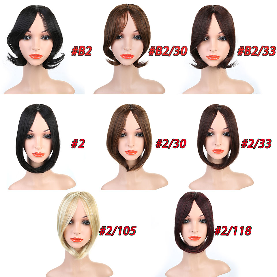 HiDoLA fashion Synthetic Hairdo False Hair Styling Bang Short Inclined In Side Bangs Oblique Female Headwear in Women 39 s Hair Accessories from Apparel Accessories
