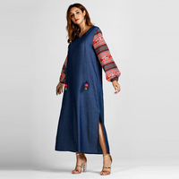 Muslim Autumn Winter Dress Z83053