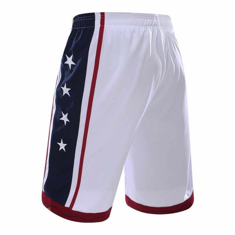 605a5289aa39 ... NEW 2019 Sport Athletic USA Basketball Shorts Training Men Active Shorts  Loose Pockets Mens Summer Running ...