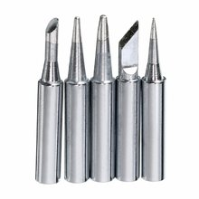 5pcs/set 900M-T Series Thermostatic Solder Iron Tips Replacement Head Soldering Tool Repair Station