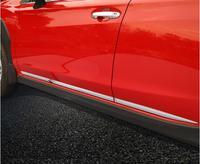 Hohe Qualität ABS CHROME AUTO SEITE TÜR KÖRPER PROTECTOR MOLDING ABDECKUNG TRIM 4 teile/satz FÜR Subaru XV 2018 2019 2020-in Chrom-Styling aus Kraftfahrzeuge und Motorräder bei