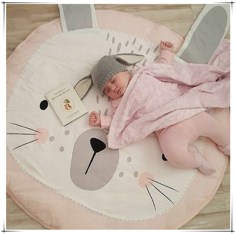Newest Arrivals Hot Infant Newborn Toddler Baby Cartoon Play Mat Children Crawling Carpet Kids Gym Activity Cute Blanket