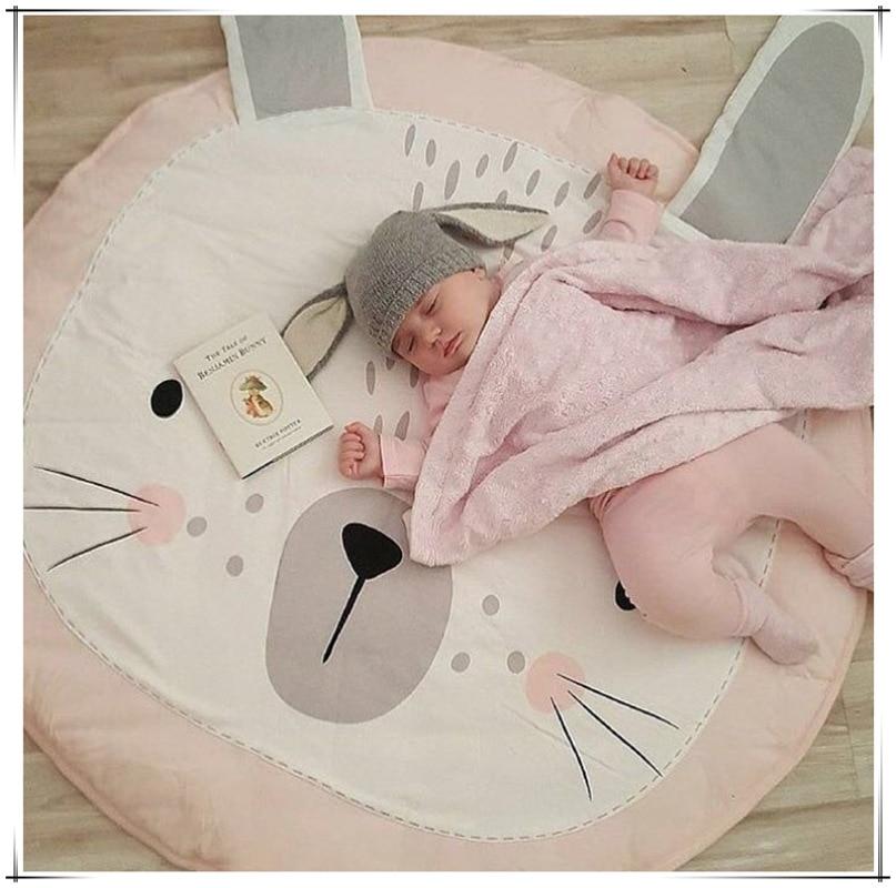 Newest Arrivals Hot Infant Newborn Toddler Baby Cartoon Play Mat Children Crawling Carpet Kids Gym Activity Cute Blanket