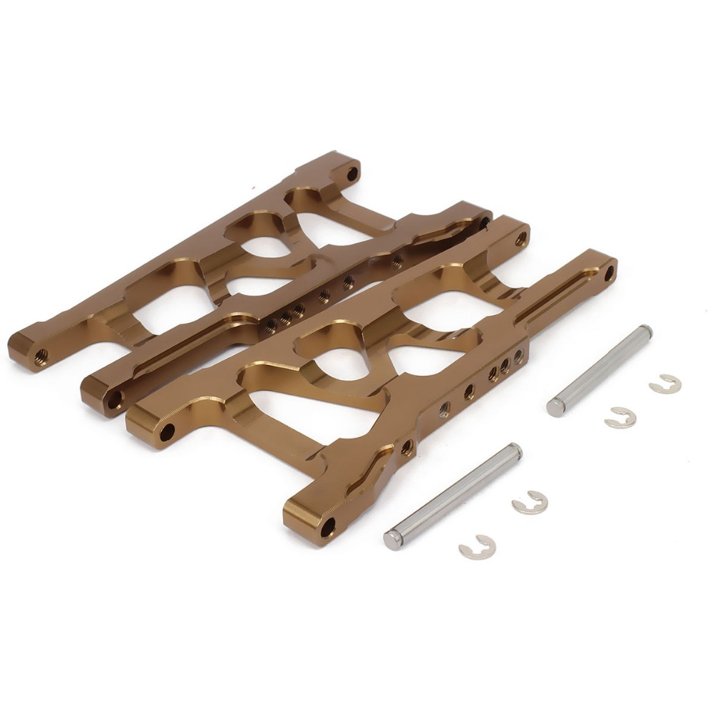 Front/Rear Suspension Control a-Arms 3655 For Rc Hobby Model Car Alloy Aluminum 1/10 Traxxas Slash 5807 Upgraded Hop-Up Parts
