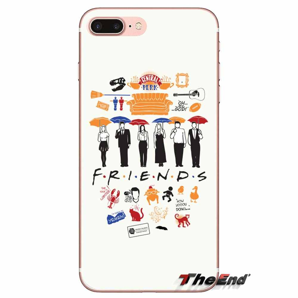 Soft Covers For Xiaomi Mi4 Mi5 Mi5S Mi6 Mi A1 A2 5X 6X 8 9 Lite SE Pro Mi Max Mix 2 3 2S Central Perk Coffee friends tv you doin