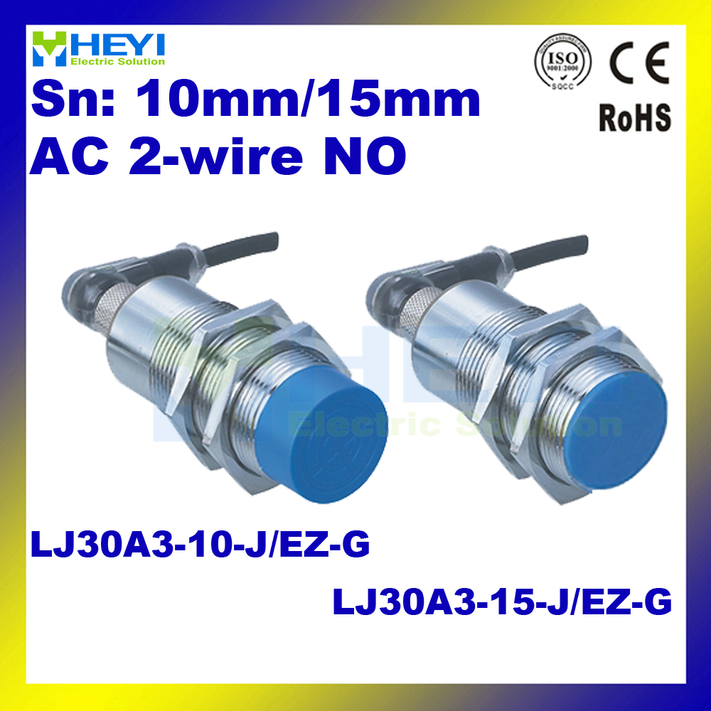 M30 air plug inductive proximity sensor 90 250V LJ30A3 10 J/EZ G ...