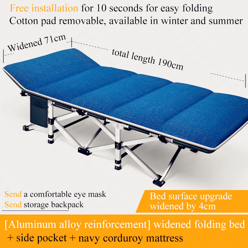 Folding Nap Relax Chair Recliner Office Daybed Sitting/Laying Siesta Deck Chair Couch Winter/Summer Fishing Beach Chair