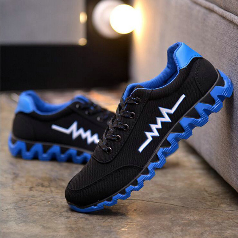 Male Sneakers Tenis Shoes Breathable Mesh Men Casual Shoes New 2018 Fashion Men Shoes Soft Spring Autumn Footwear For Male LF-27
