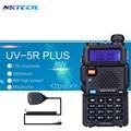 2PACK NKTECH Walkie Talkie 8W UV-5R PLUS VS Baofeng UV5R Transceiver VHF UHF Dual Radios vhf +Speaker Mic