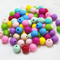 20pcs Food Grade Round Silicone Beads 15mm Baby Teething Bead Diy Jewelry Beads Bpa Free For Baby Pacifier Holder Jewelry Making