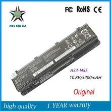 Новый Оригинальный 56WH Аккумулятор для Ноутбука ASUS A32-N55 N55V N45S N55S N75SL