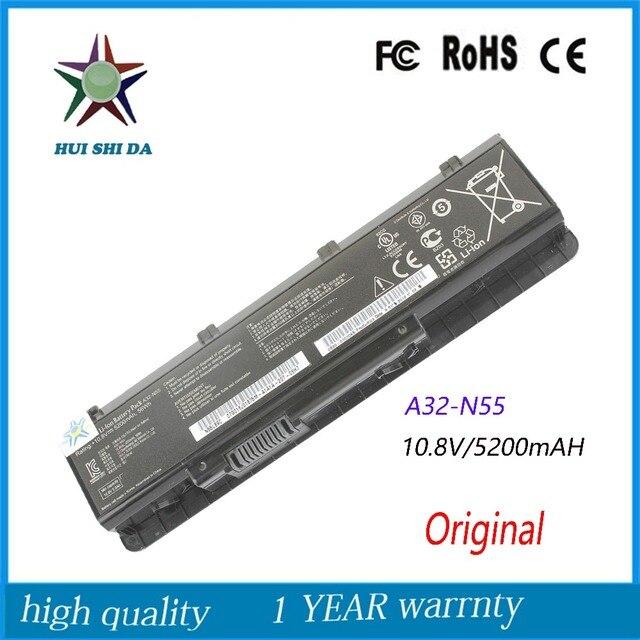New Original 56WH Laptop Battery for ASUS A32-N55 N45S N55V N55S N75SL