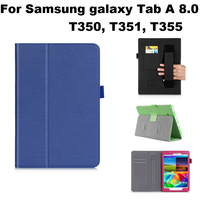High Quality Business PU Leather Case For Samsung Galaxy Tab A 8 0 T350 T351 T355