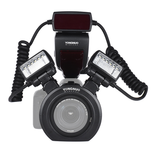 Image 5 - YONGNUO YN24EX E TTL  Flash Speedlite 5600K with 2pcs Flash Heads and 4pcs Adapter Rings for Canon EOS 1Dx 5D3 6D 7D 70D Cameras