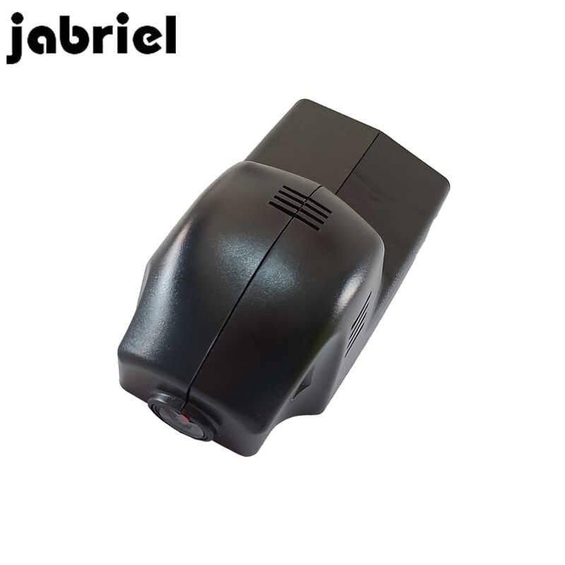 Jabriel 1080P Ẩn Xe Đầu Ghi DVR Dash Cam Camera Chiếu Hậu Cho Xe BMW 1,2 Năm 3,5, 7 Series, X1/X3/X5/X6 E46 E90 F30 E39 E60 F10