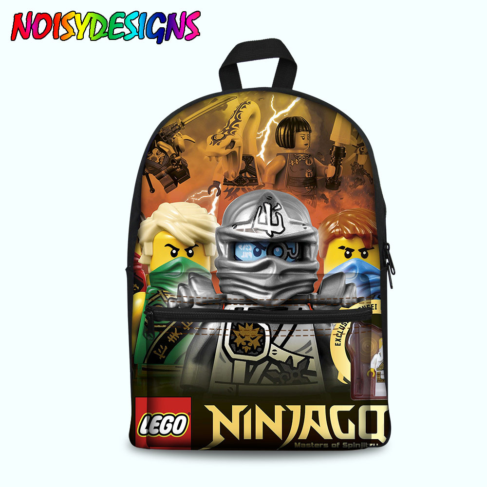 Luggage & Bags School Supplies Bag Girl Ninjago Rush Game Backpack School Bag For Girls Boys Preppy Style Backpacks Children Rugzak Book Bag