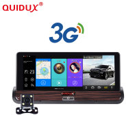 New Full HD Car DVR GPS Android 7inch Touch Dual Camera WiFi Auto Camera Car Center