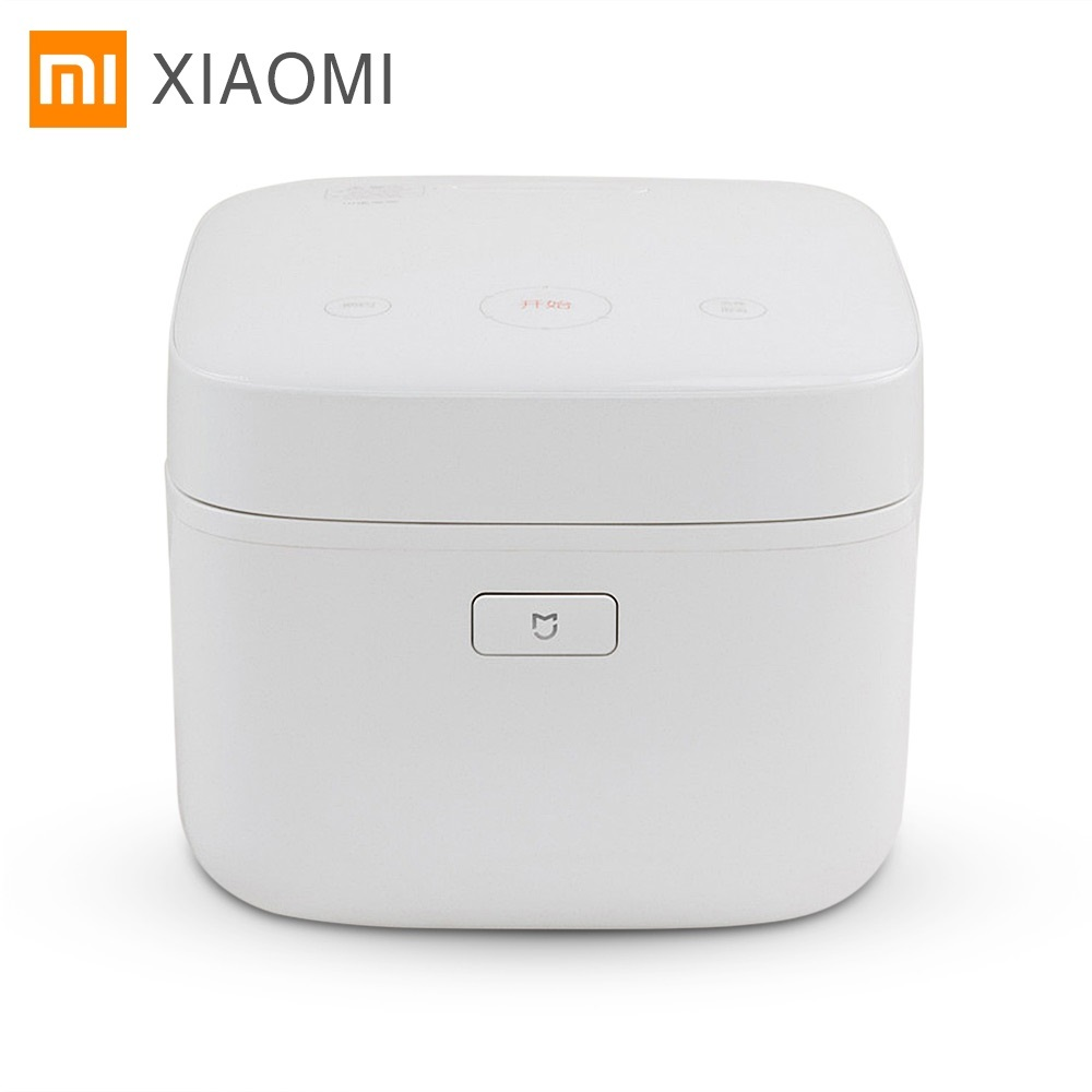 Xiaomi Mijia Mi IH Smart Electric Rice Cooker 3L Alloy Cast Iron IH Heating Pressure Cooker APP Remote Control Home Appliances f 40fy803 smart electric rice cooker 4l alloy cast iron heating pressure cooker appliances for kitchen appointment 0 24 hours