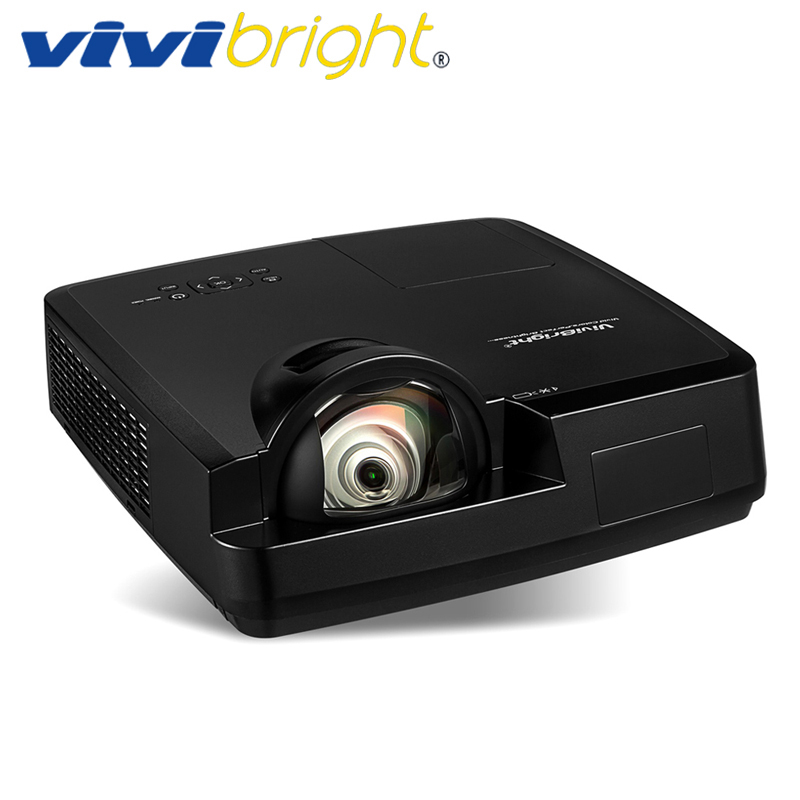 VIVIBRIGHT 3500 ANSI Lumens Short Throw 3LCD Projector, 1024x768. Projector for Business, Teaching, Home Theater. PRX570ST 4500 lumens 3d dlp short throw video projector windows hologram