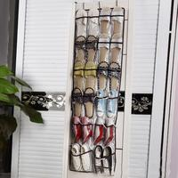 22 Clear Pockets Hanging Shoes Organizer Bag Living Room Door Back Wall Shoes Holder Kids Toys