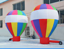 hot sales inflatable air land balloon for event or party advertising custom balloon for sale