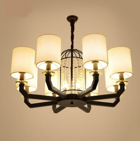 Ancient lights European Pendant Lights American living room lights new Chinese style lamps modern minimalist iron lamps LU816314 bright lights pendant lights american simple living room lights european style wrought iron lamps bedroom dining lights lu829486