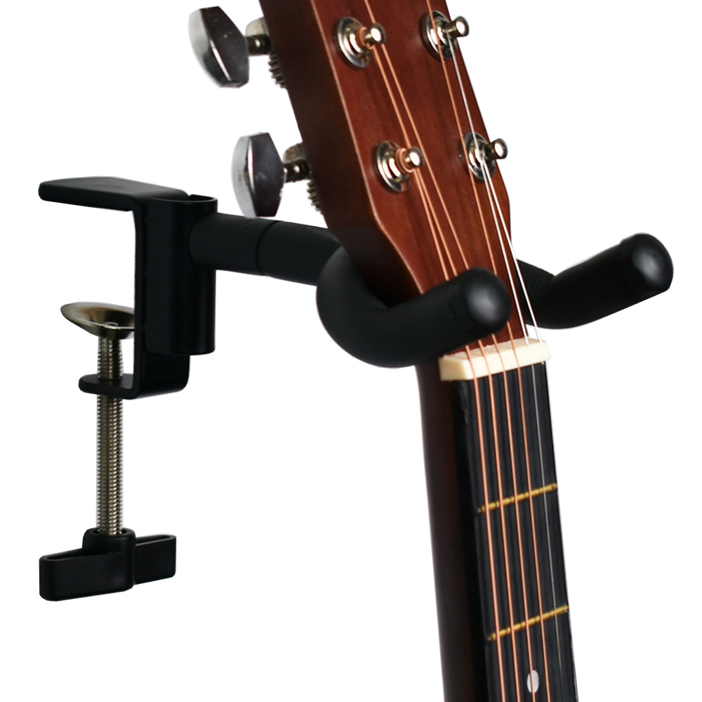 Portable Guitar Stand, Guitar Support - Fit Up To 40MM Desk - No Guitar Included