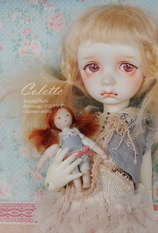 luodoll 	BJD SD doll doll soom imda 3.0 colette 1/6 baby girl (free makeup Free Shipping luodoll bjd doll sd doll baby girl with sdm 1 4 volks mako body toy doll doll free shipping free eyes free make up