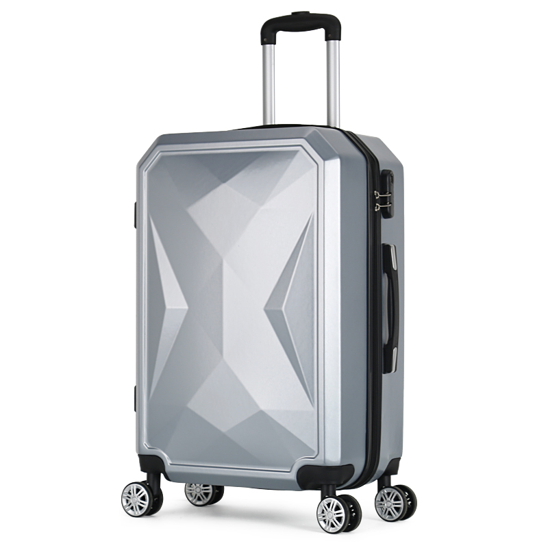 【Sinor】20 inch Waterproof Spinner Luggage Travel Business Large Capacity Suitcase Bag Rolling Wheels Gray Color US Free Shipping - 2