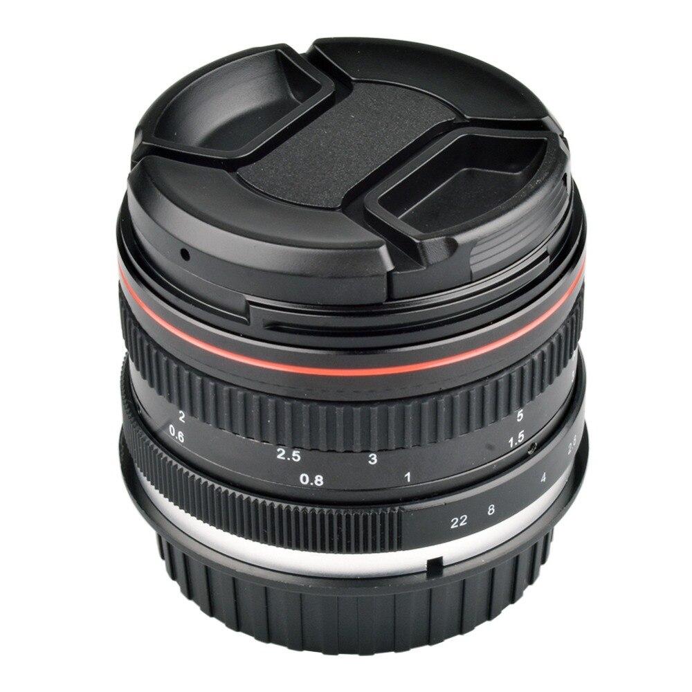 50mm F1.4 Large Aperture Portrait Manual Focus Camera Lens for Canon 550D 760D 77D 80D 5D4 Nikon D5100 D7100 D810 D750