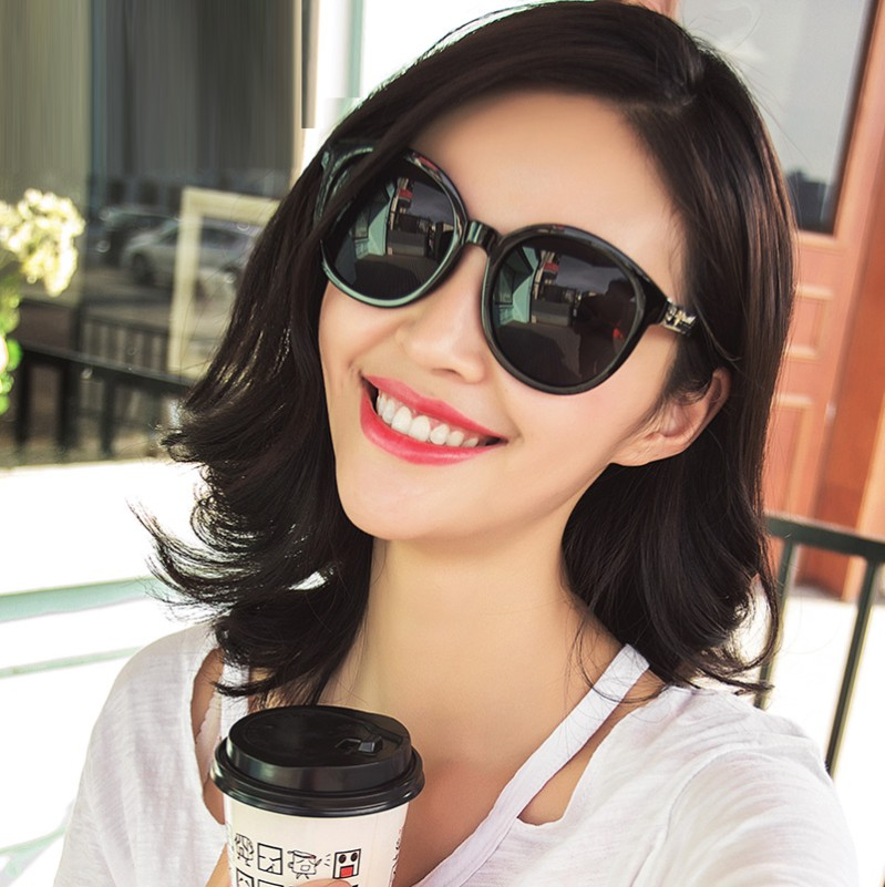 Sunglasses For Round Faces  aliexpress com 2017 korean version of the v brand sunglasses
