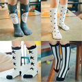 Cute Cartoons Girls Socks Children Socks for Boys 2017 Spring and Autumn Baby Boys Girls Cotton Knee Socks Kids New Arrivals