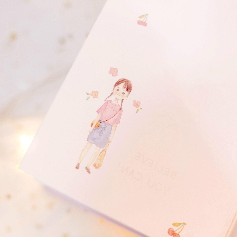 5e9 A5 Kawaii 100 Bucket List Diary Notebook Hand Books Planner