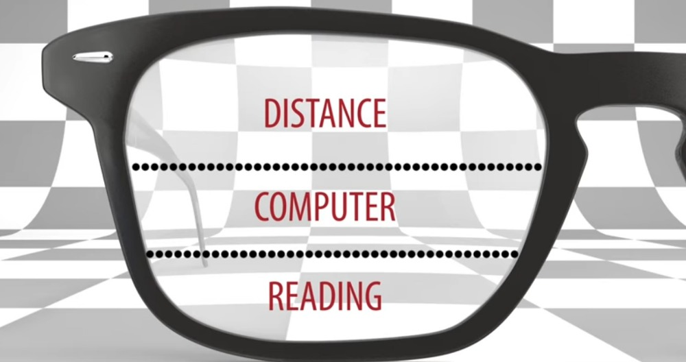 1 61 Index Multifocal Lens Standard Prescription Progressive Lenses For Myopia Reading prescription lens for far