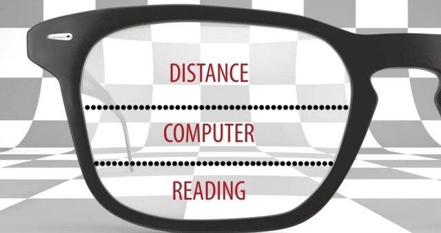 f8c1aa634c 1.61 Index Multifocal Lens Standard Prescription Progressive Lenses For  Myopia   Reading prescription lens for far