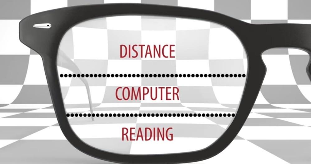 1.61 Index Multifocal Lens Standard Prescription Progressive Lenses For Myopia & Reading prescription lens for far near DD1509