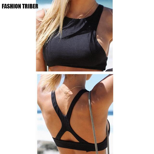 Novo Estilo de Alta Qualidade das Mulheres sexy cinta sling strap-on camisa de cor sólida Fino colete Frete Grátis