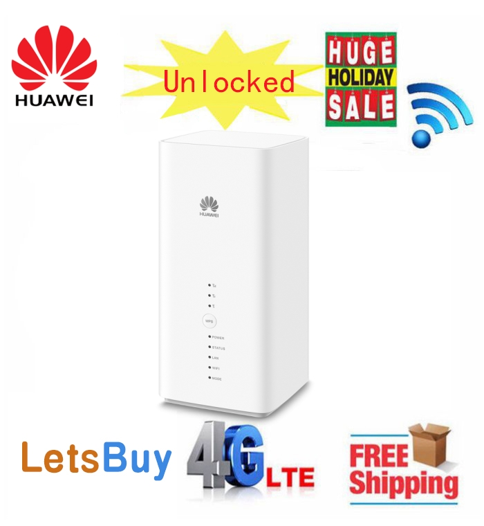 Unlocked New Huawe Huawei B618s 22d Cat11 600Mbs 4G LTE (Band1/3/7/8/20/38) VoIP CPE Wireless Router