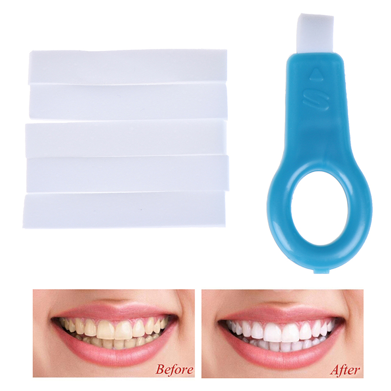 New Teeth Whitening Kit Clean Teeth Eraser Whitening Polishing Stains Remover For Oral Deep Clean Tooth Beauty