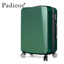 Padieoe High Grade 20″22″24 inches Suitcases Travel Rolling Scooter Suitcase Trolley Traveling Bag  Boarding Luggage with Wheel