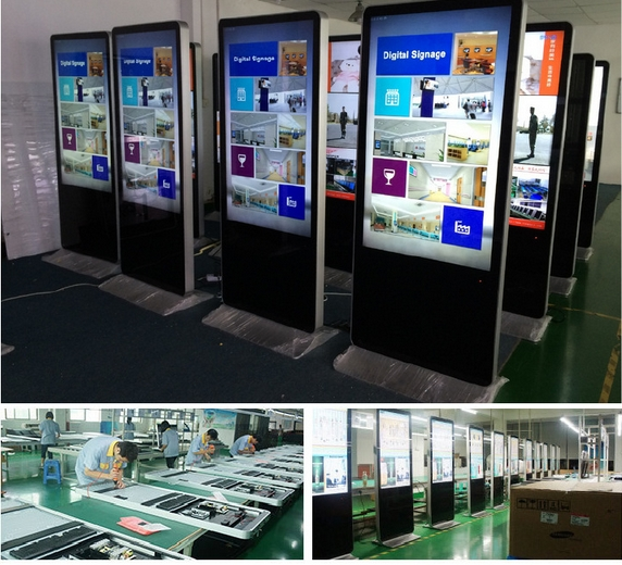 42 46 55 65 Inch All In One School Wifi Touch Screen Digital Signage China Factory Supply Led Lcd Advertising Display